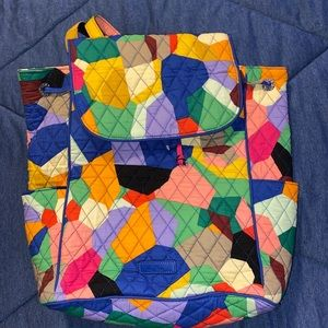 Quilted Vera Bradley Backpack